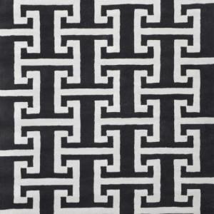 Sibella Black/Silver - Designer rug