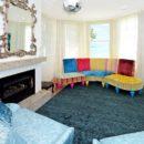 Ritz Dusky Blue - Designer rug by Source Mondial