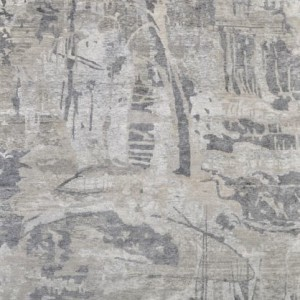 Rio White Grey - Designer rug
