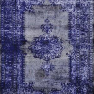 Lapis Benitoite - Designer rug