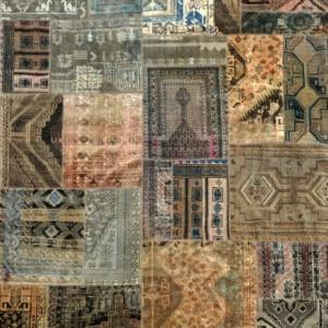 Natural Multi - Designer rug