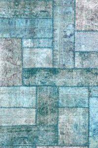 Overdyed Decolourised - Designer rug