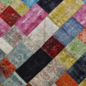 Vintage Overdyed - Designer rug