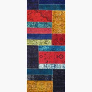 Vintage Overdyed Runner - Designer rug