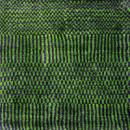 Waldorf Colourways GREEN VIOLET - Designer rug