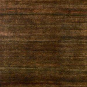 Burnished dark brown Sunset - Designer rug