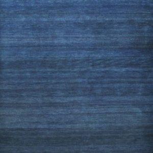Arctic Blue Sunset - Designer rug