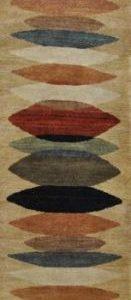 Moeraki Gold Runner - Designer rug