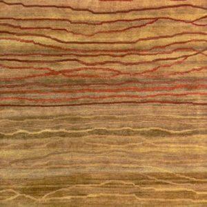 Chocolate Broken Sunset - Designer rug