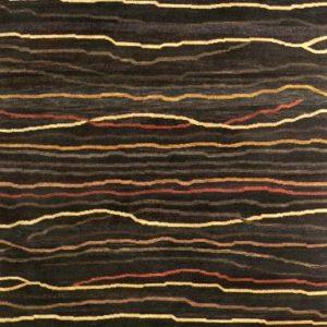 Coal Broken Sunset - Designer rug