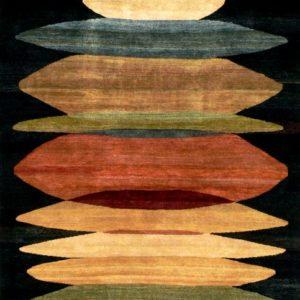 Moeraki Black - Designer rug