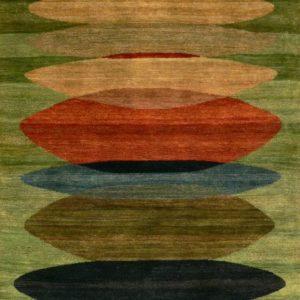 Moeraki Green - Designer rug