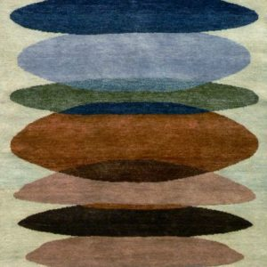 Moeraki Aqua - Designer rug