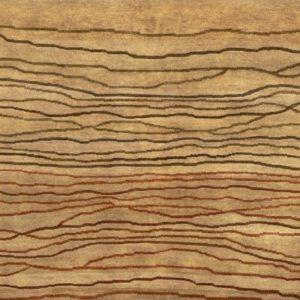 Linen Broken Sunset - Designer rug