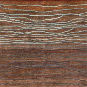 Sepia Broken Sunset - Designer rug