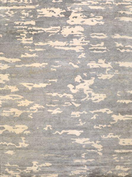 Vapor grey white - Designer rugs