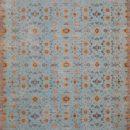 Paprika Blue Gem - Designer rugs by Source Mondial