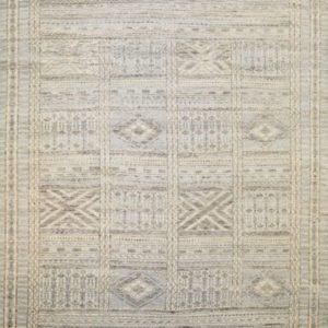 Hopscotch blue multi - Designer rug