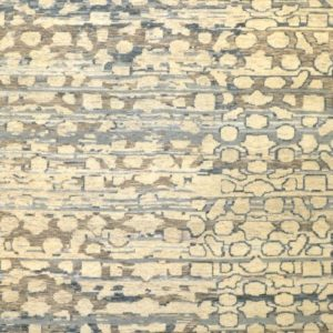 Intersection grey blue - Designer rug