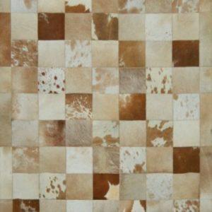 Jersey Large Leather - Designer rug