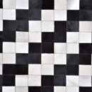 Steps Leather - Designer rug by Source Mondial