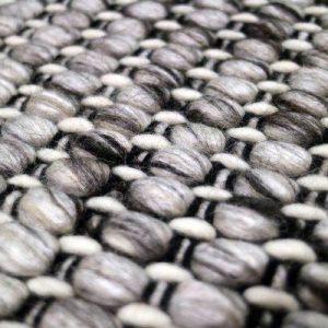 Key West Grey Black - Designer Rugs by Source Mondial