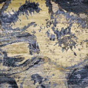 Desert Earth Blue - Designer rugs