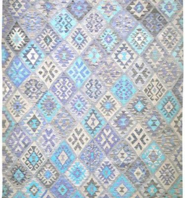 KHYKL-HBC05 HAPPY BLUE COLOUR KILIM 188X240