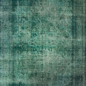 Descartes turquoise - Designer rug by Source Mondial