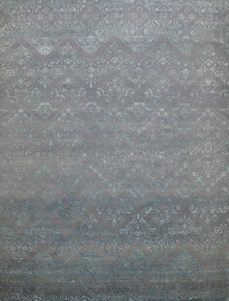 Chantilly teal - Designer rug by Source Mondial