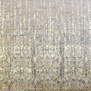 Dissolving damask- - Designer rug by Source Mondial