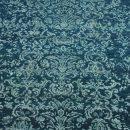 Damask turquoise - Designer rug by Source Mondial