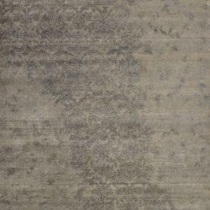 Raffles silver - Designer rug by Source Mondial