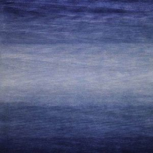 Volcano Blues - Designer Rugs by Source Mondial