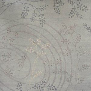 Floret Greysbeigecream - Designer rug by Source Mondial