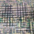 Mosaic Blue Ivory - designer rug