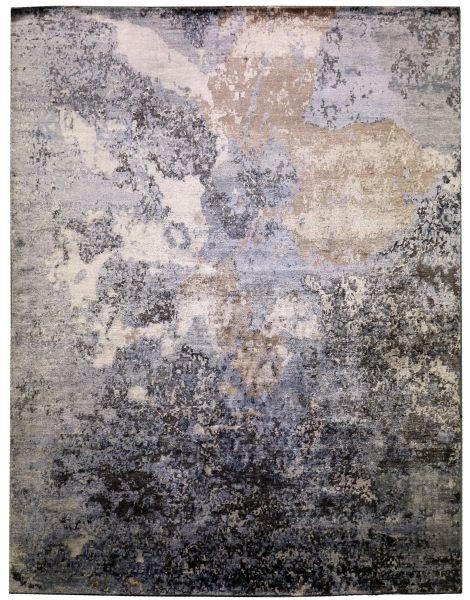 Tsunami Blue - designer rug