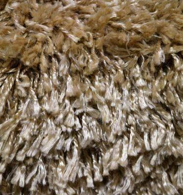 SQAS01 Twisted Art Silk Shaggy Gold 181x239