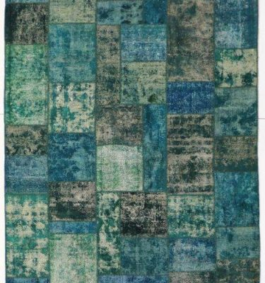 KHYPW-V75 Vintage Patchwork Turquoise 187x276