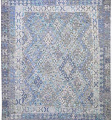 KHYKL-HBC12 HAPPY BLUE COLOUR KILIM 192X230