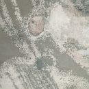 YADSY-BACG01 BACH Grey Silver Charcoal 2.77x3.67 CU